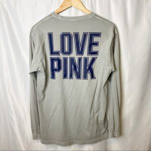 Victoria's Secret Pink Long Sleeve Grey Small
